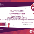 #WMF17 Web Marketing Festival 2017