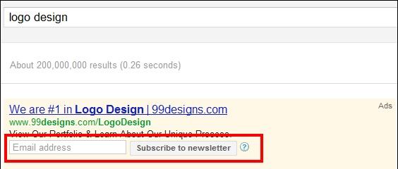 Annuncio con estensione Dynamic Search Ads
