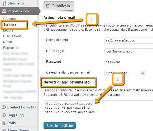 Servizi Aggiornamento WordPress