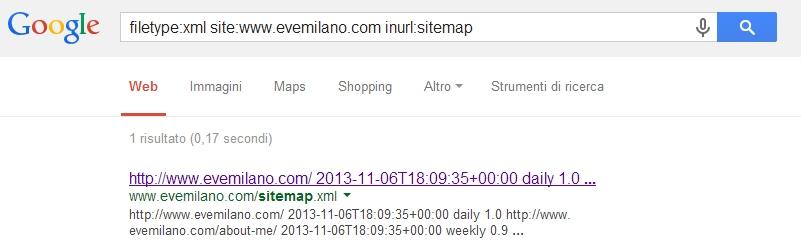 Come trovare la Sitemap.xml di un sito web