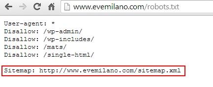 Trovare la Sitemap.xml di un sito