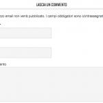 Come rimuovere il campo URL dai commenti WordPress