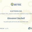 Attestato Advanced SEO Tool 2016