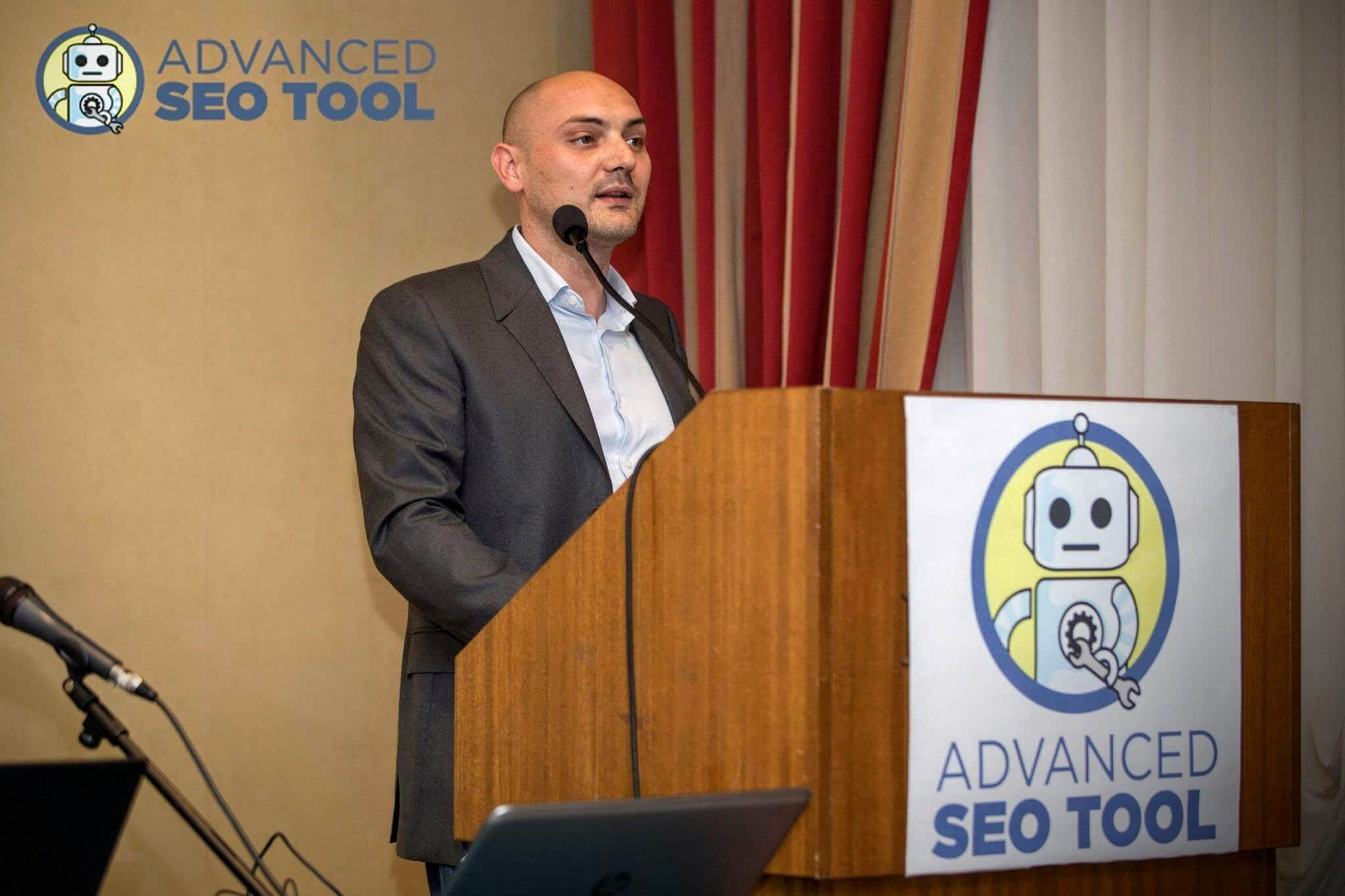 Giovanni Sacheli Relatore Advanced SEO Tool 2016