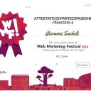 #WMF16 Web Marketing Festival 2016