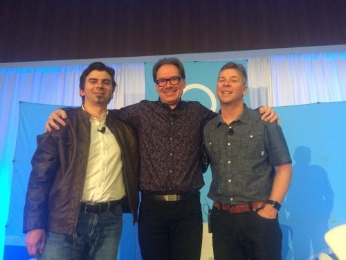 Google Webmaster Trends Analyst Gary Illyes, Google Software Engineer Paul Haahr and Search Engine Land Editor Danny Sullivan on the SMX West 2016