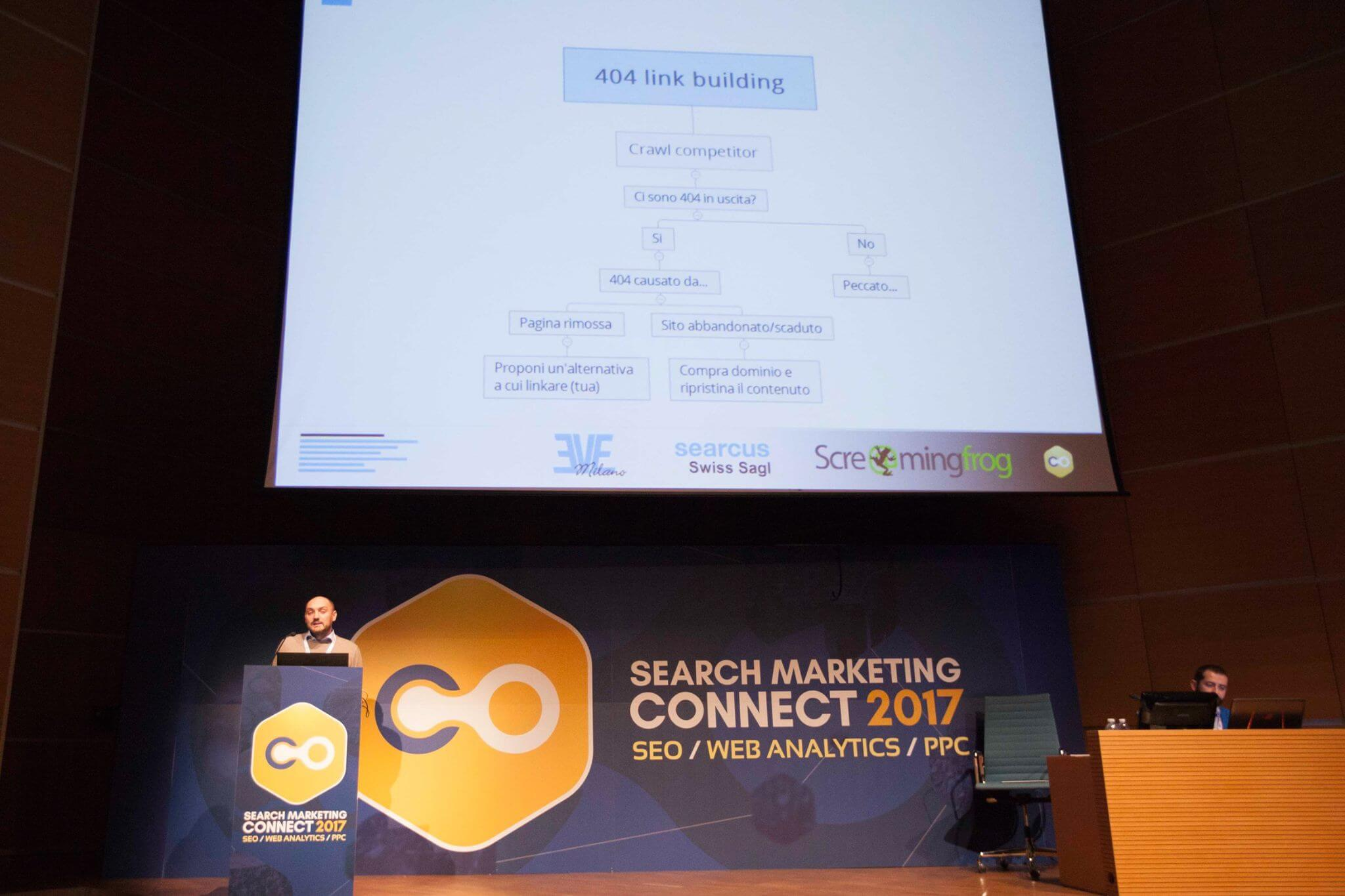 Giovanni Sacheli Relatore Search Marketing Connect 2017