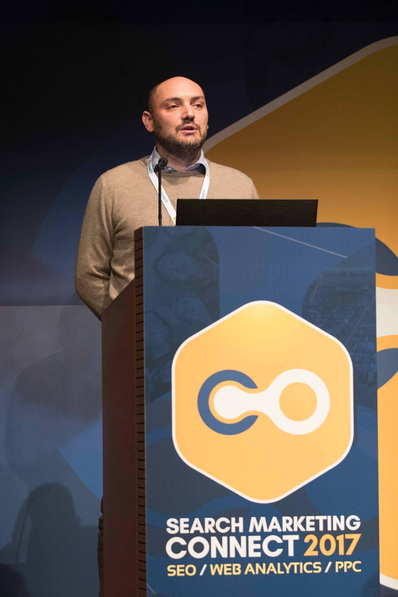 Giovanni Sacheli Relatore Search Marketing Connect 2017