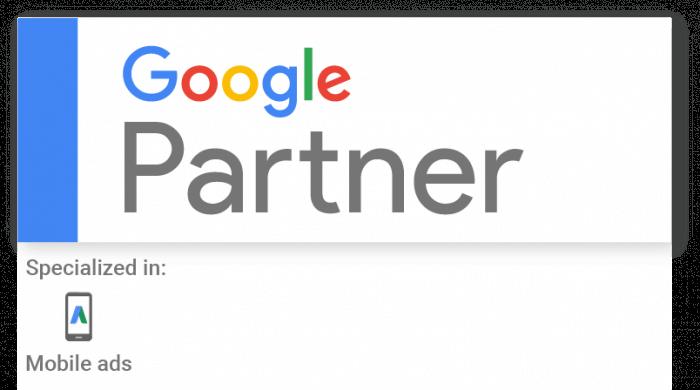 Google Partner Badge con specializzazione mobile