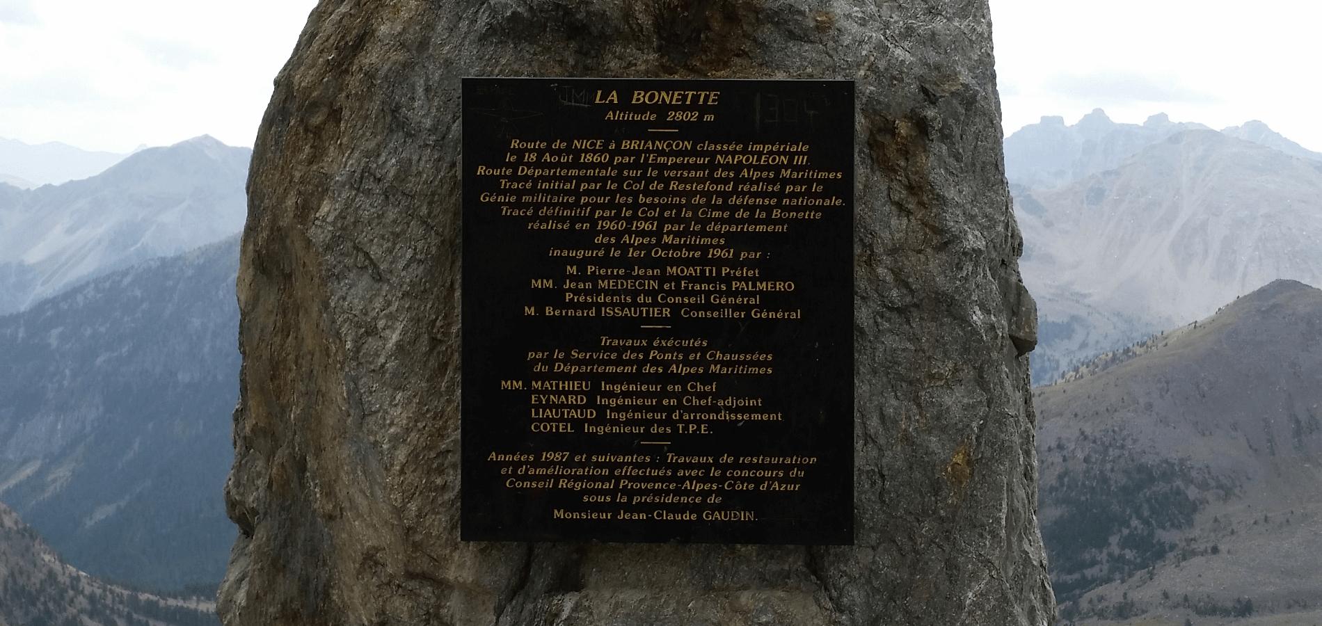 Colle della Bonette