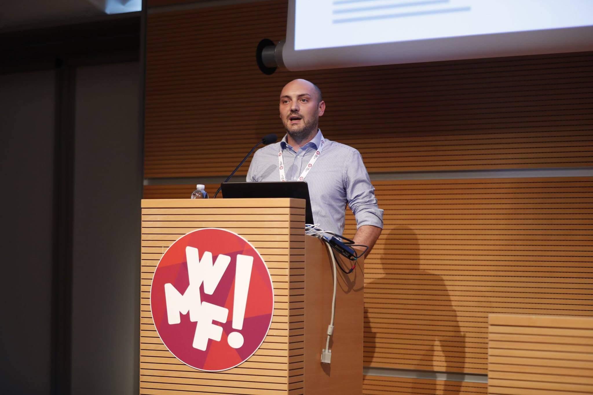 Giovanni Sacheli al Web Marketing Festival 2018