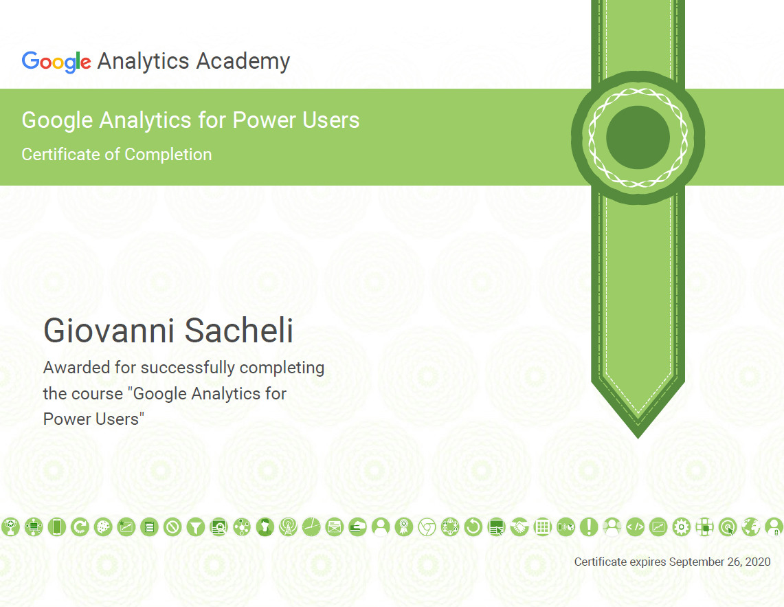 Google Analytics for Power Users 2018