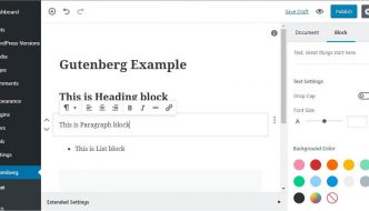 Come disabilitare l'editor Gutenberg in WordPress 5.0