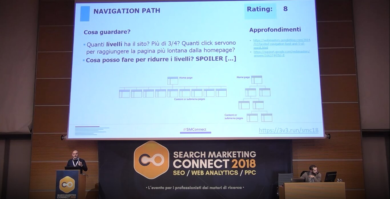 Giovanni Sacheli relatore Search Marketing Connect 2018