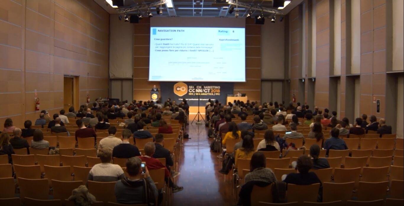 Giovanni Sacheli relatore Search Marketing Connect 2018