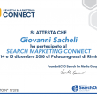 Attestato partecipazione Search Marketing Connect 2018