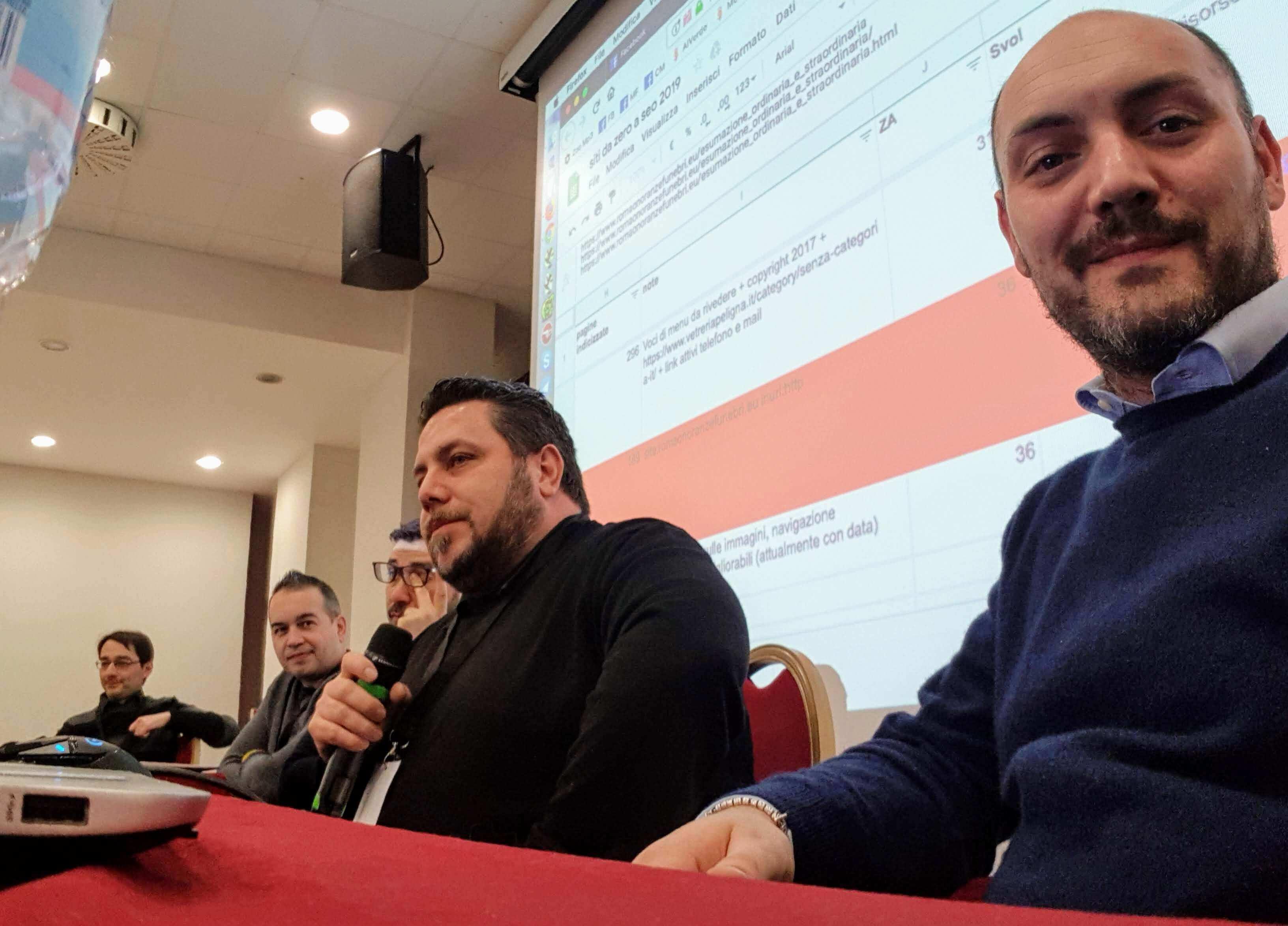Da Zero a SEO 2019 - Tavola Rotonda - Giovanni Sacheli