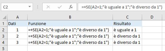 Excel - Funzione SE