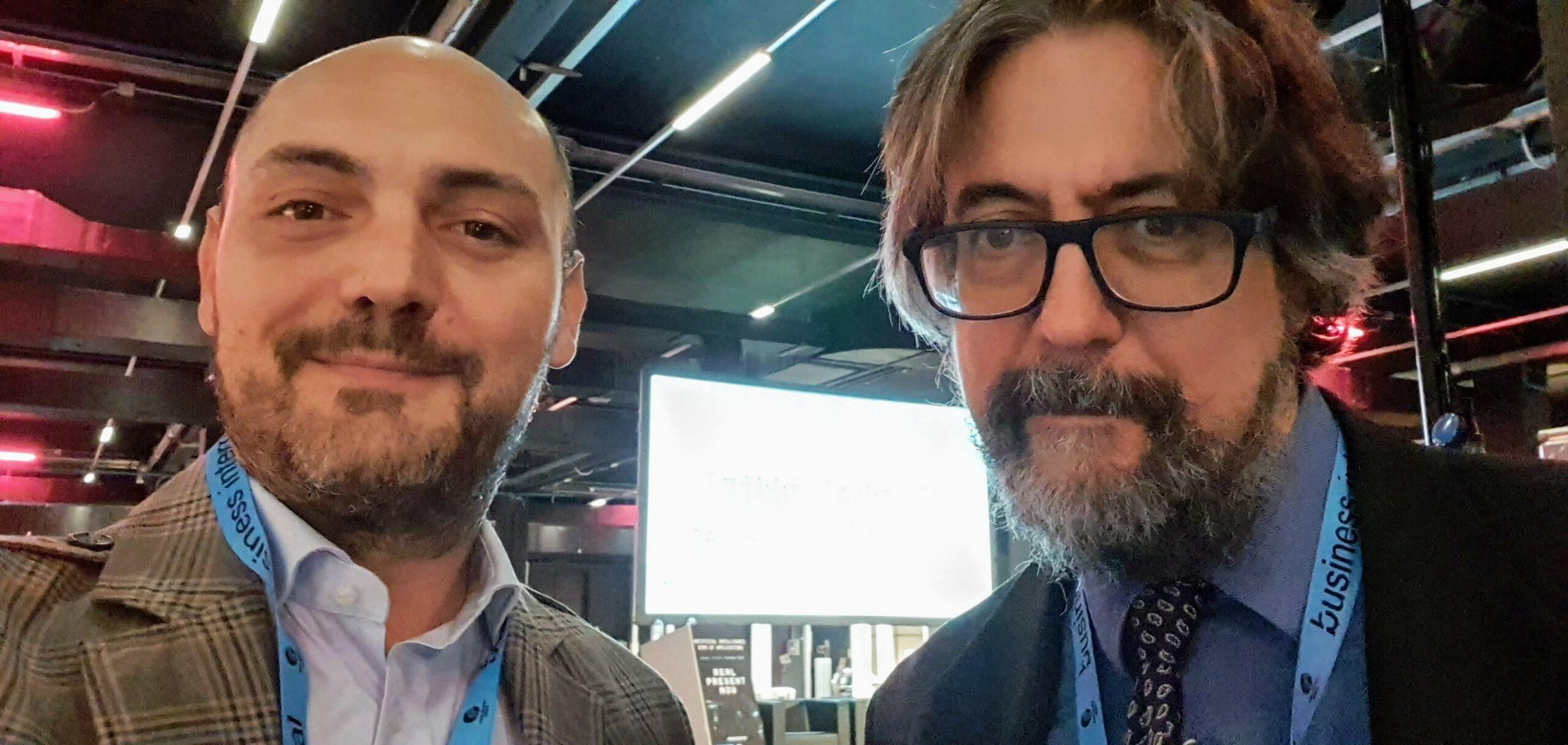 Giovanni Sacheli & Bill Slawski @ SMXL Milan 2019