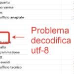 Come importare in Excel un file .csv con codifica utf-8