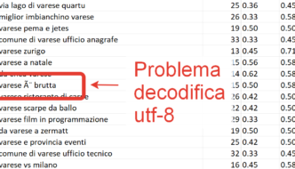 Come importare in Excel un file .csv con codifica utf-8