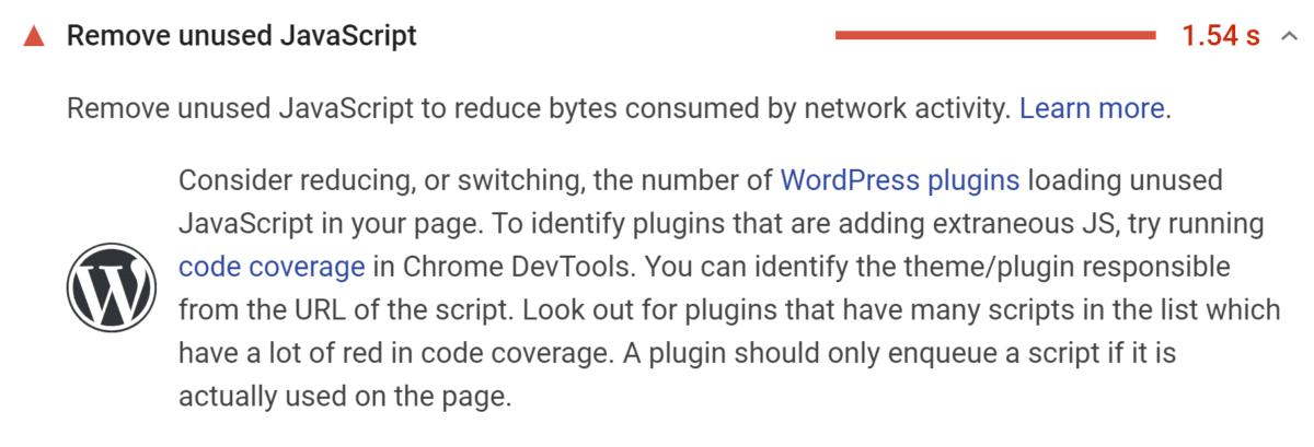 Remove unused JavaScript: isi pisi!