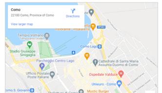 Creare iframe da Google Maps