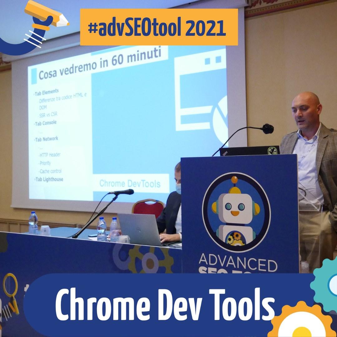 Giovanni Sacheli relatore Advanced SEO Tool 2021